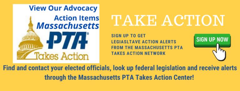 PTA Take Action Banner