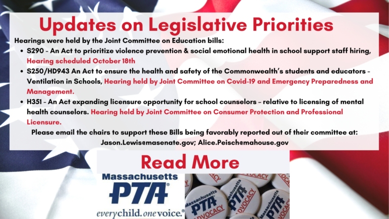 Legislative Updates Banner