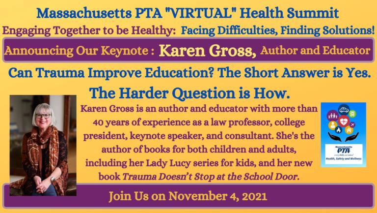 2021 Health Summit Keynote Banner