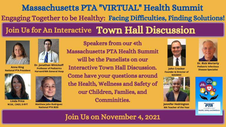 2021 Health Summit Town Hall Banner